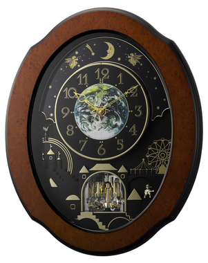 Rhythm Clocks - Wall Clocks - Musical Clocks